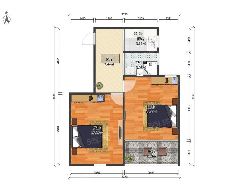 六十平方房屋设计图