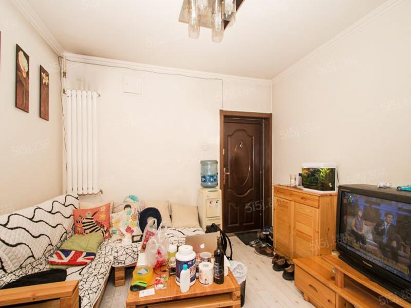 北京我爱我家四惠东地铁 康家园东向一居 满五一套 中间层无遮挡 方便看房