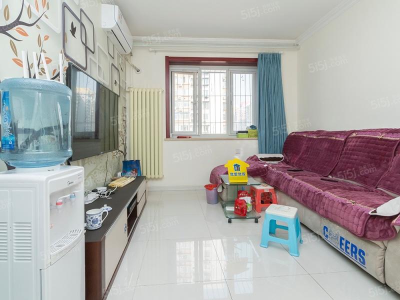 三环边.横一条小区,低总价两居室.户型方正