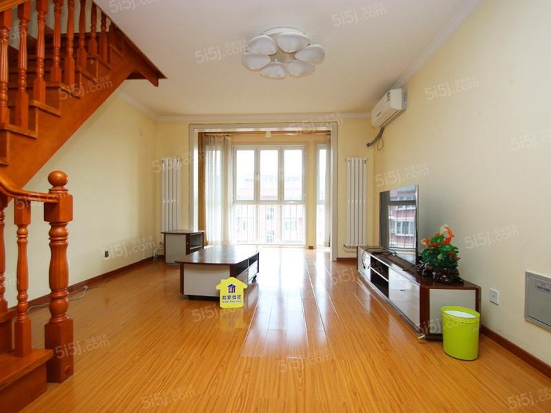 北京我爱我家腾龙家园 精装复式房 带露台 三室二厅二卫 有钥匙随时看