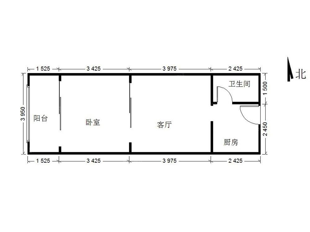 北京我爱我家北关地铁6号线西潞苑小区 ,经典小户型总价171万第7张图