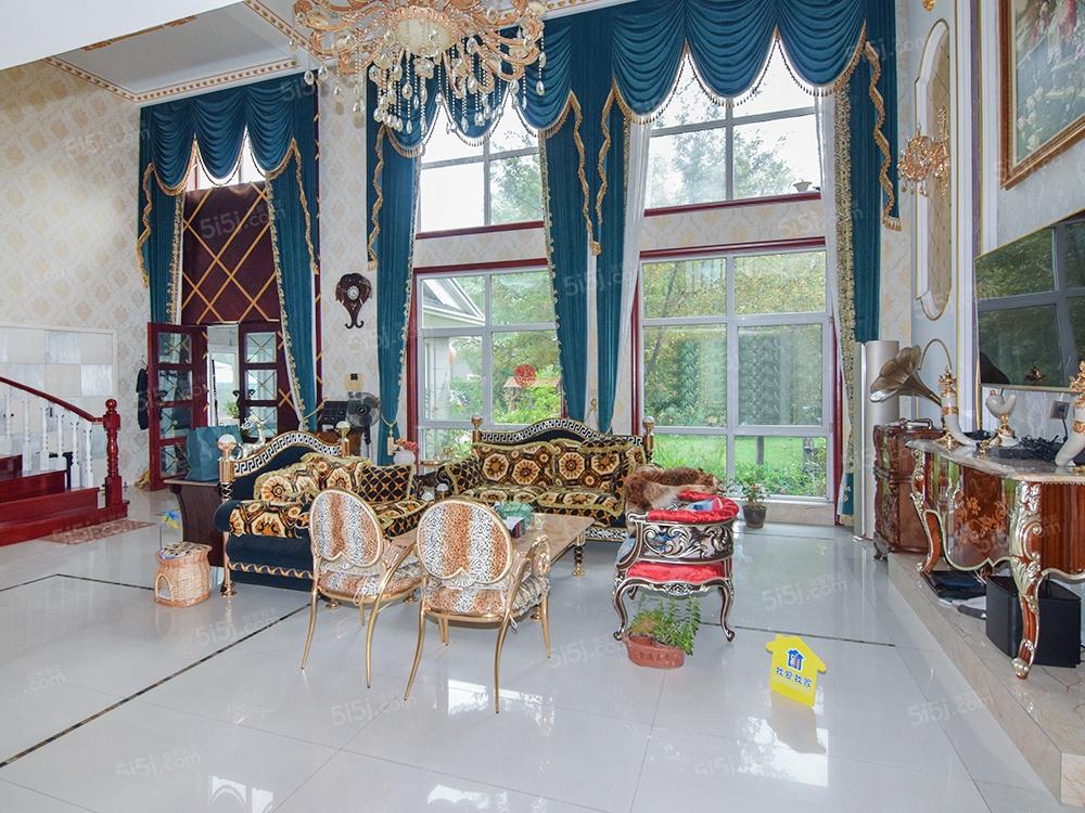 碧水庄园,独栋别墅,百平花园+精装修5居室+看房方便