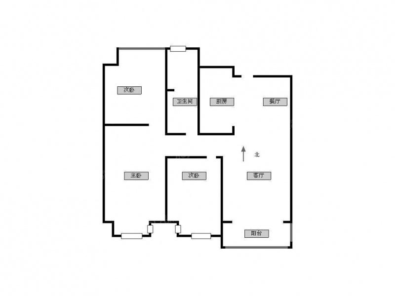 石湖景区吴中万达石湖湾花园97平三室二厅一卫全新硬装装修