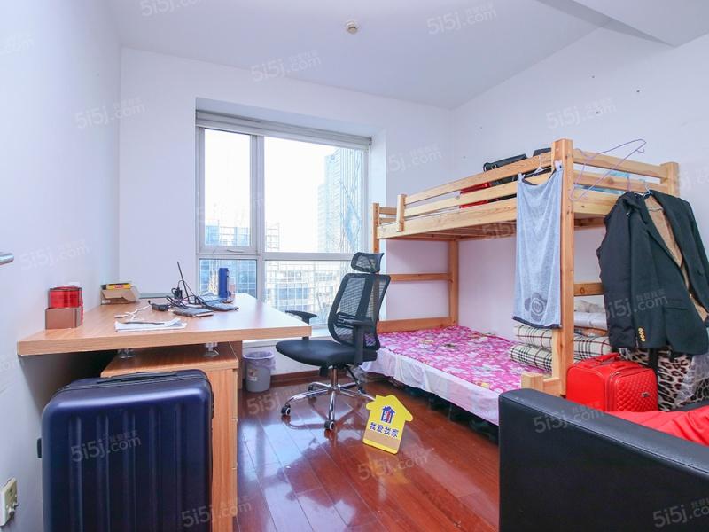 国贸万达广场西北向观景一居室诚意售租金高,租户稳定二手房