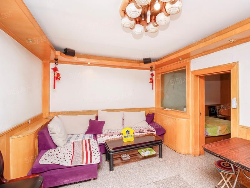 北京我爱我家峪园低总价两居室 交通便利 高楼层 采光好
