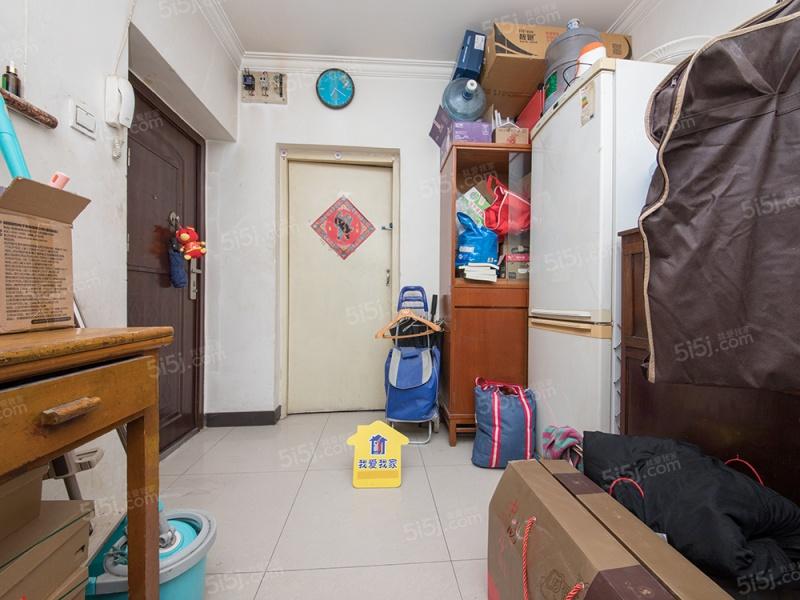南二环边玉林东里三区 南北通透两居室 户型方正