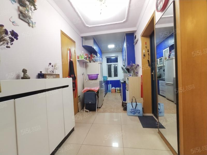 许府巷 建设新村 两室一厅 精美装修 双南户型,采光佳