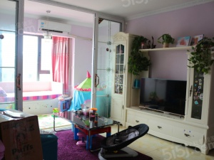 【首城汇景湾】精装南向一居室,已满两年,买房附家具家电