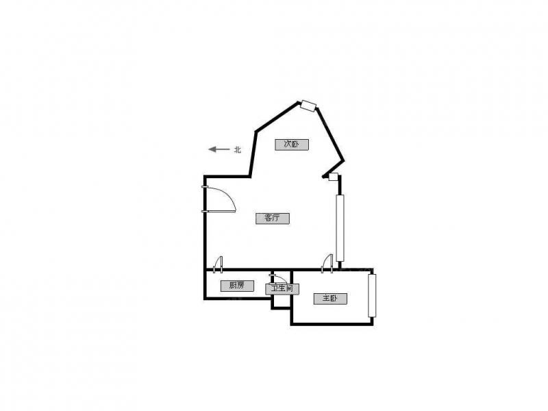 常州我爱我家高成天鹅湖精装单身公寓 设备全拎包住第6张图