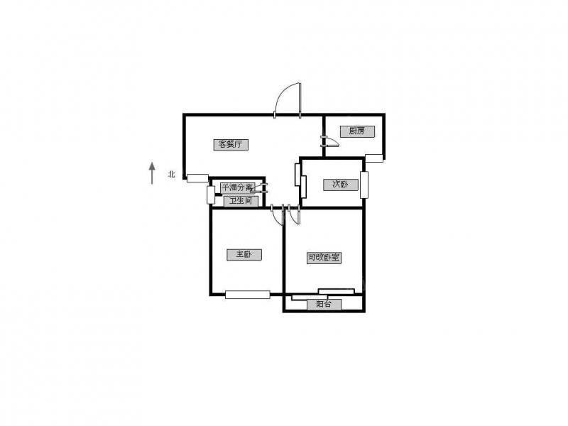 常州我爱我家新北区好房出售总价低满二年3室2厅采光好南北通透第10张图