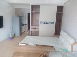常州我爱我家青枫公园附近宝龙城市广场公寓精装修一室一厅一卫