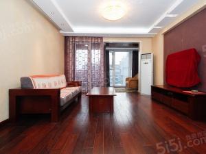 奥体新上西堤国际城 精装两室三开间朝南 客厅带阳台 新城双本