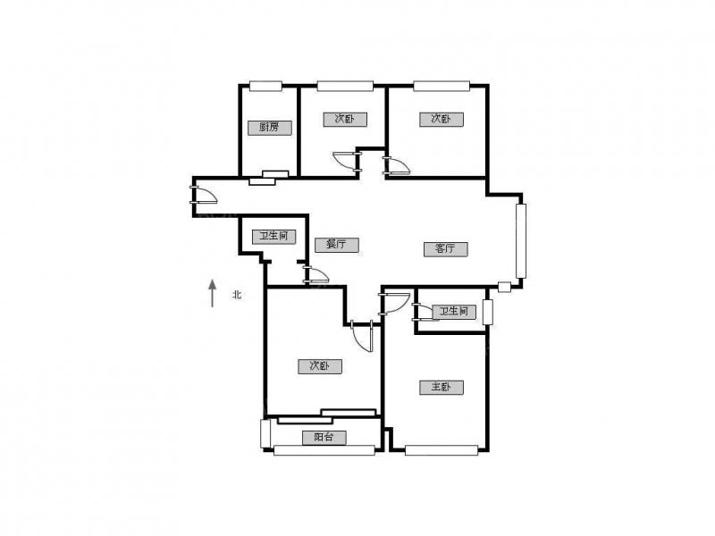 常州我爱我家中海凤凰华润国际旁高成天鹅湖精装4房,地段好第12张图