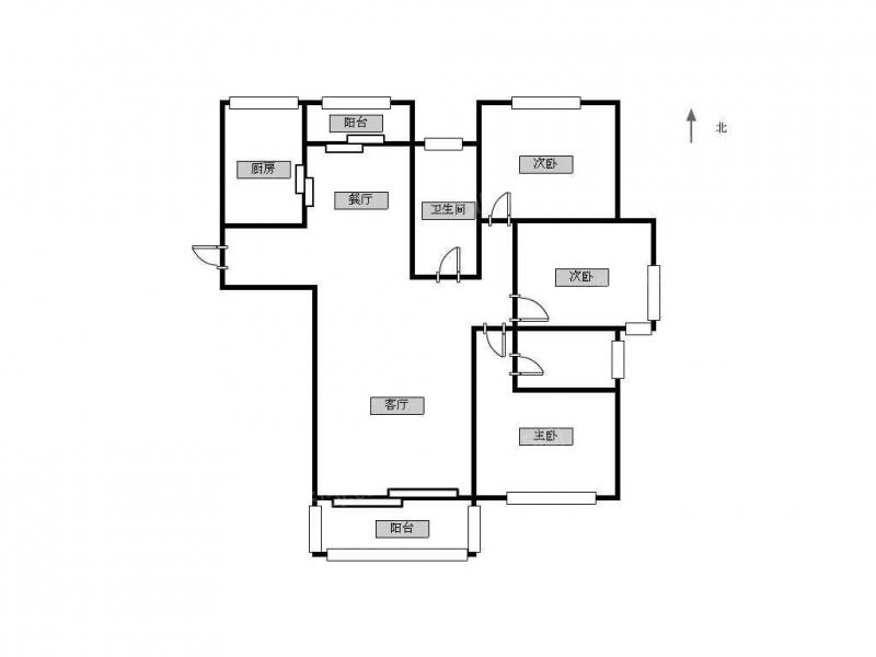 青岛我爱我家海上嘉年华精装套三,随时看房,家具家电齐全第10张图