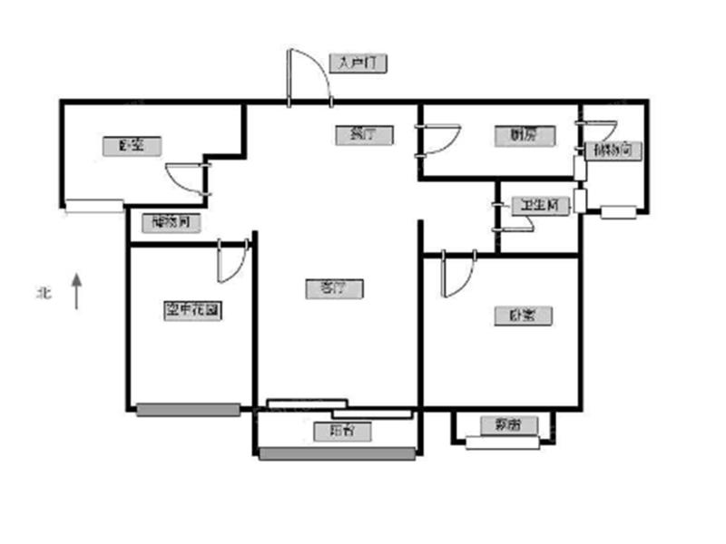 常州我爱我家万达旁高端住宅雅居乐星河湾毛坯三房第9张图