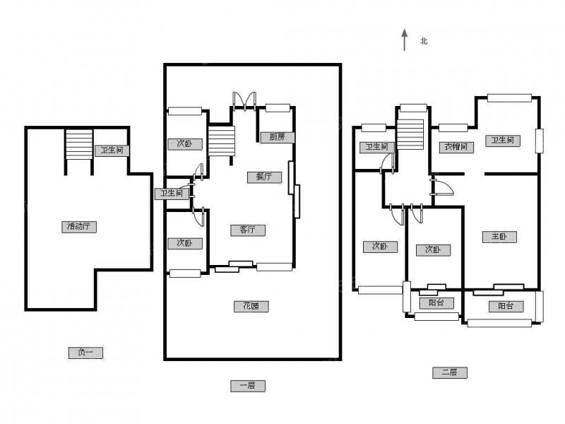 青岛我爱我家建邦听海 类独栋别墅 300平花园 随时看房第16张图