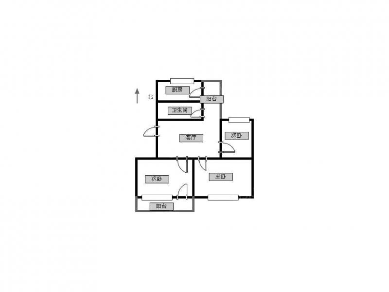 常州我爱我家北戴新村纯三楼简装三室带7平车库临近公园新天地商圈第10张图