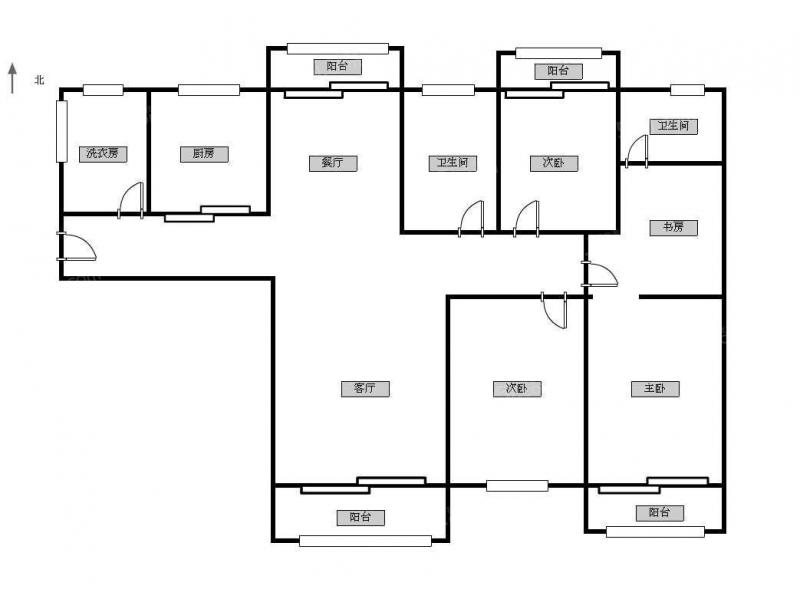常州我爱我家怀德桥旁银河湾花园精装四房第15张图