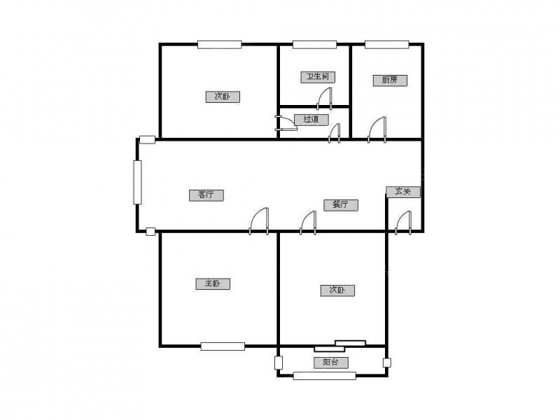 常州我爱我家新出怀德苑三房两厅一卫,中间楼层采光无遮边户第11张图
