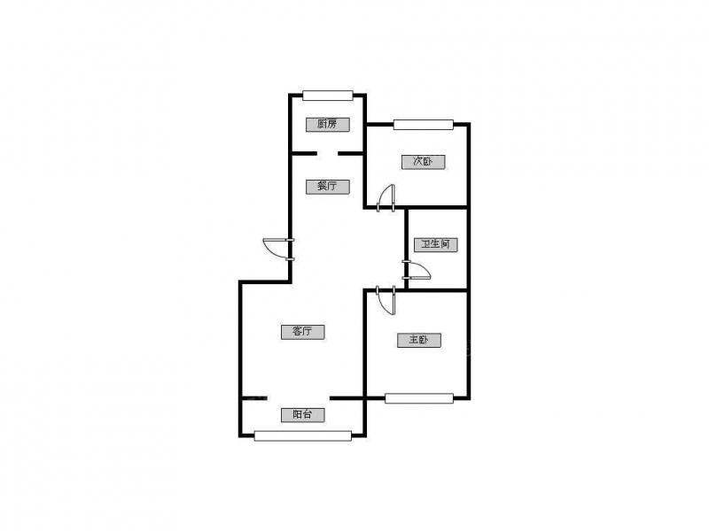 青岛我爱我家唐岛湾A小区,套二拎包入住,生活方便,位置好,便宜第8张图