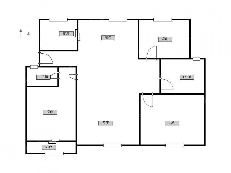 常州我爱我家泰山二村3室 2厅 2卫精装拎包入住第14张图